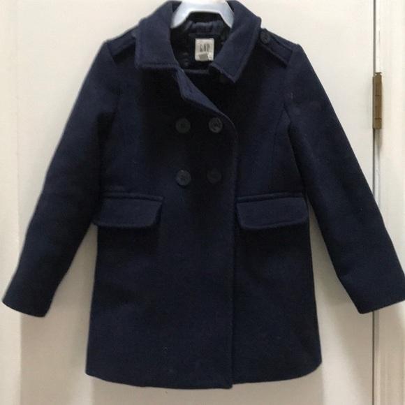 da0517d18 GAP Jackets & Coats | Girls Navy Wool Pea Coat Ready For Fall | Poshmark